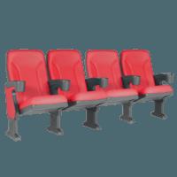 Argentina rød, 4 stole