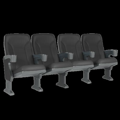 Argentina svart, 4 stolar