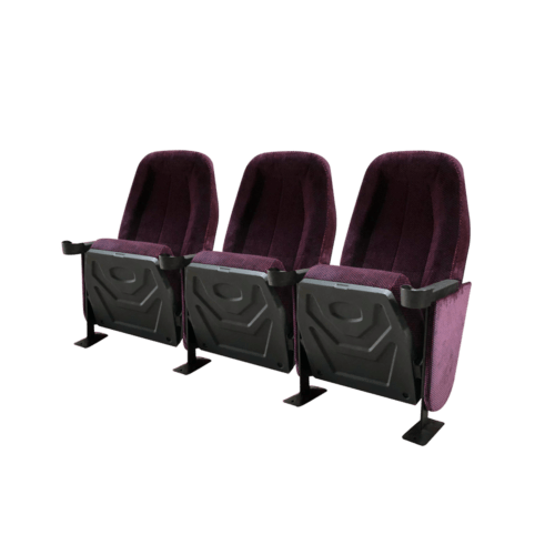 Omniplex lilla, 3 stole