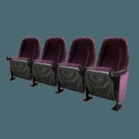 Omniplex lilla, 4 stole
