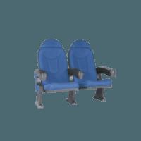 Roma blå, 2 stole