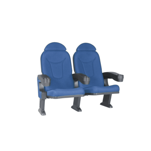 Roma blå, 2 stolar