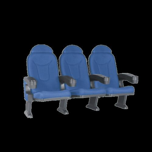 Roma blå, 3 stolar