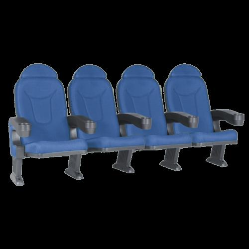 Roma blå, 4 stole