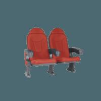 Roma rød, 2 stole