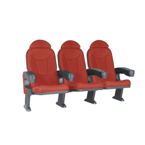 Roma röd, 3 stolar