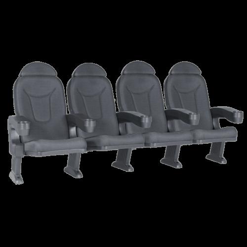 Roma black, 4 seats