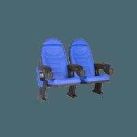 Montreal blå, 2 stole