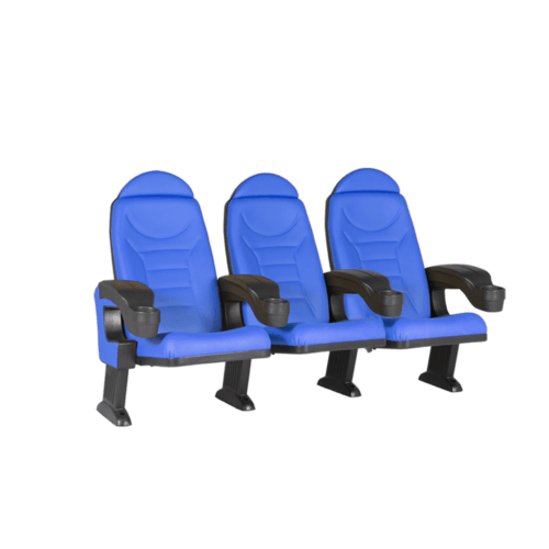 Montreal blue, 3 seats