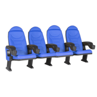 Montreal blå, 4 stole