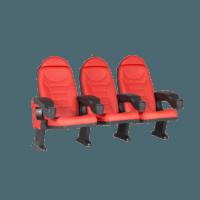 Montreal rød, 3 stole