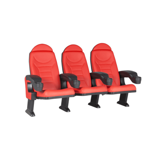 Montreal red, 3 seats
