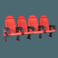 Montreal rød, 4 stole