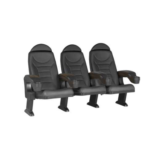 Montreal black, 3 seats