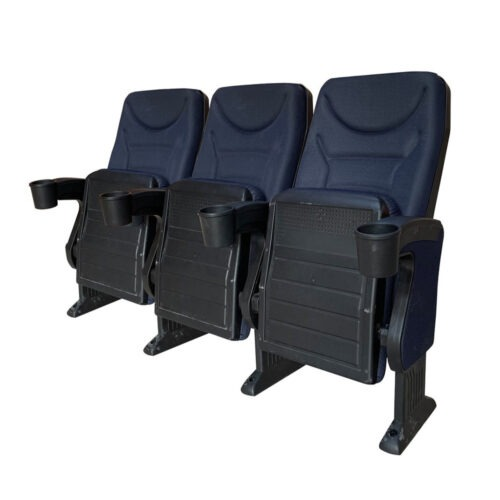 Omniplex Blue, 3 chairs