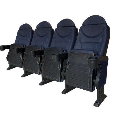 Omniplex Blue headrest, 4 chairs